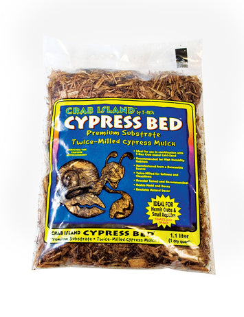 T-Rex Hermit Crab Substrate - Cypress Bed