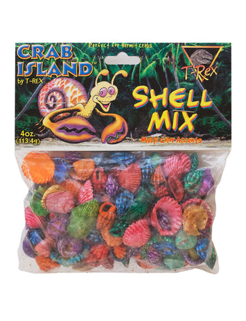 T-Rex Hermit Crab Accessory - Shell Mix Decor