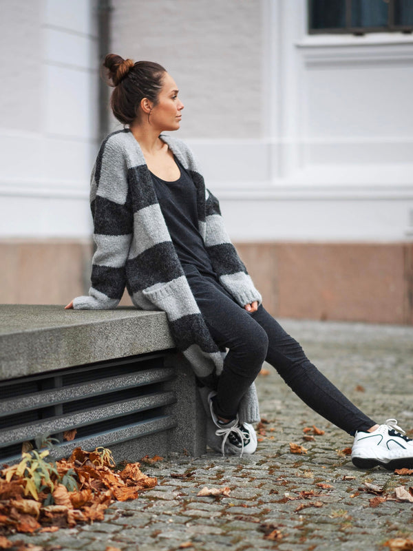 Comfy Copenhagen ApS Surround Me Knit Black / Grey
