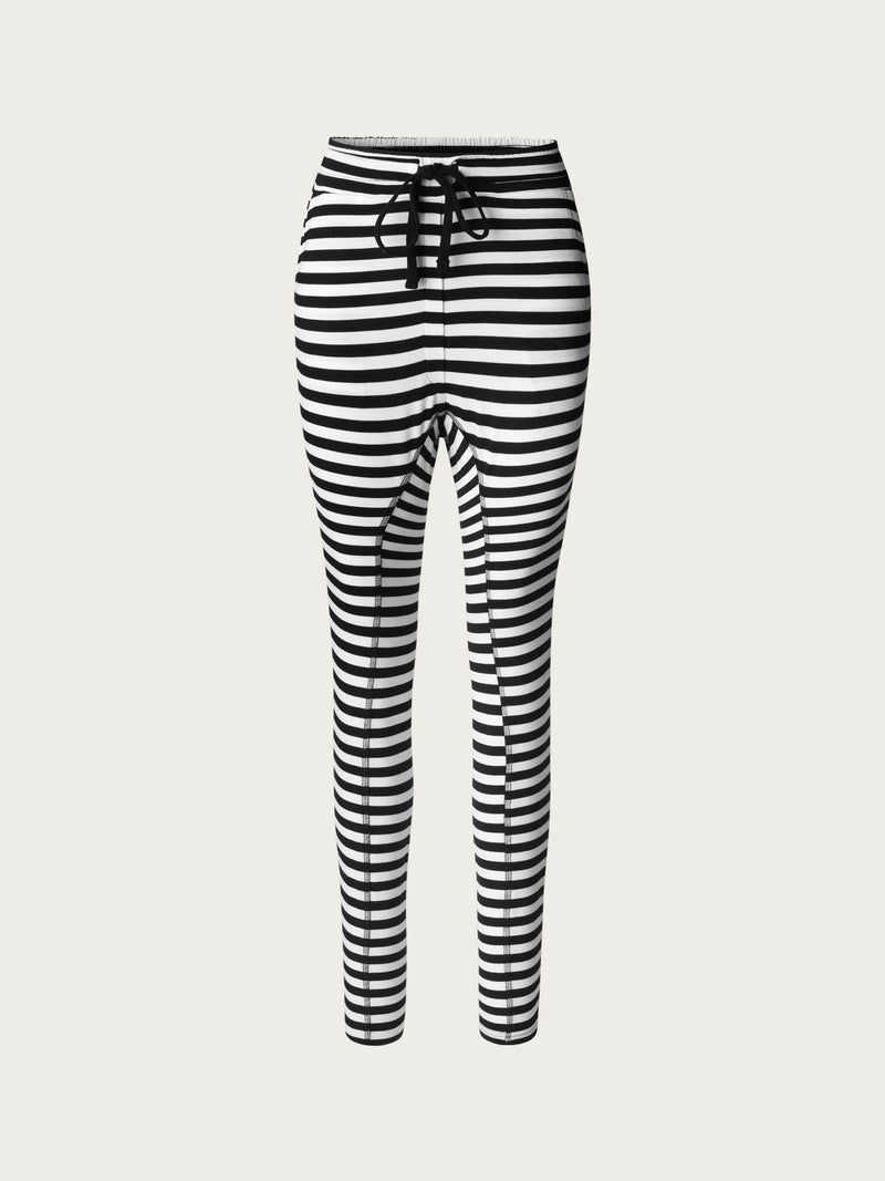 Comfy Copenhagen ApS Beds Are Burning Pants Black / White Stripe