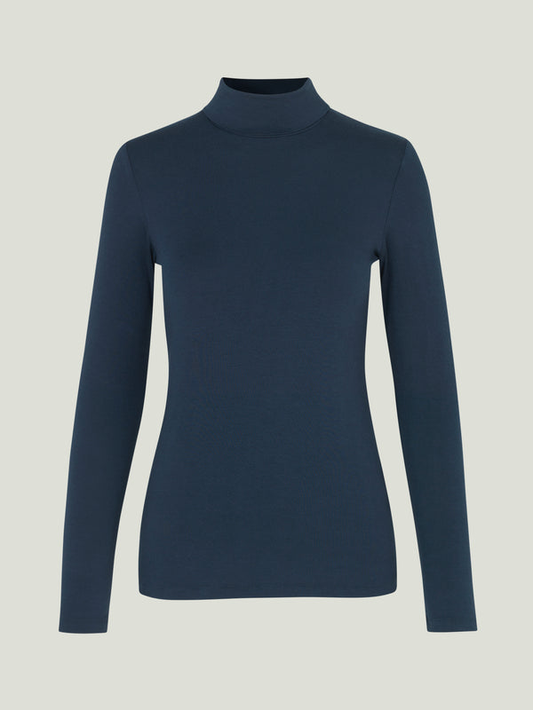 Comfy Copenhagen ApS Because Turtle Neck Navy