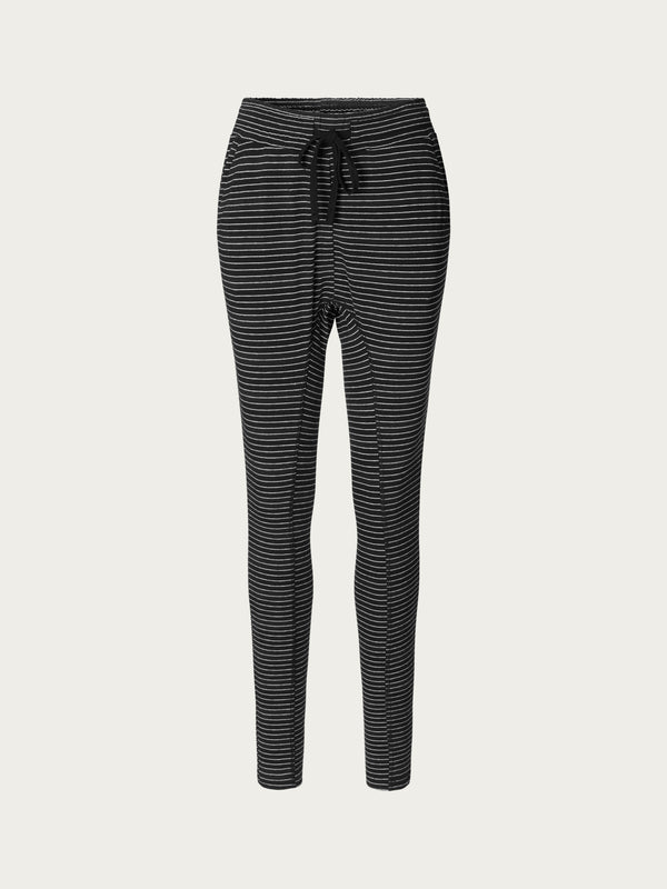 Comfy Copenhagen ApS Beds Are Burning Pants Black Small Stripes