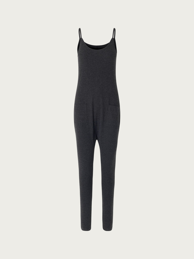Comfy Copenhagen ApS Best Moments Jumpsuit Black Melange