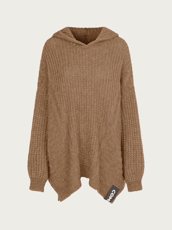 Comfy Copenhagen ApS Blow My Mind Hoodie Dusty Brown