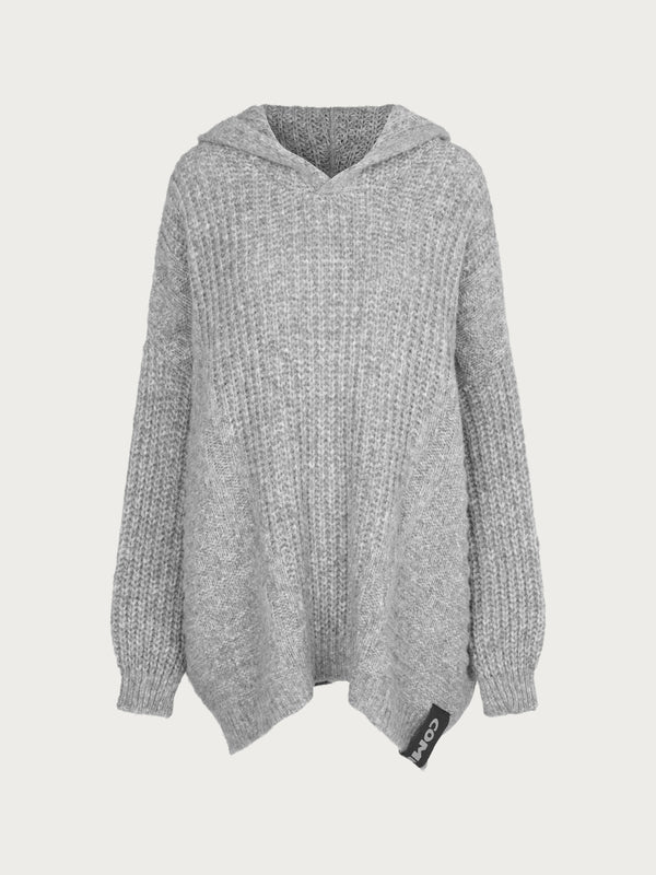 Comfy Copenhagen ApS Blow My Mind Hoodie Light Grey