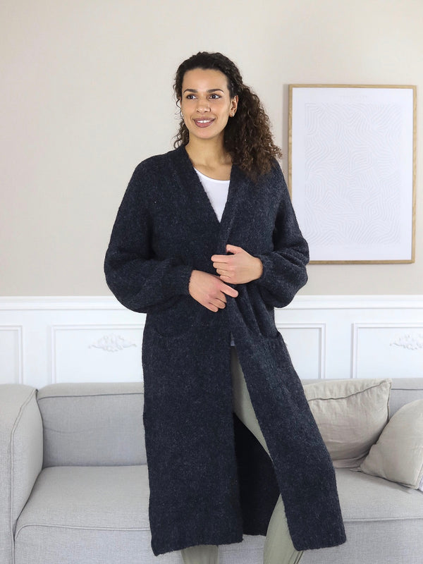 Comfy Copenhagen ApS Embrace Knit Cardigan Navy