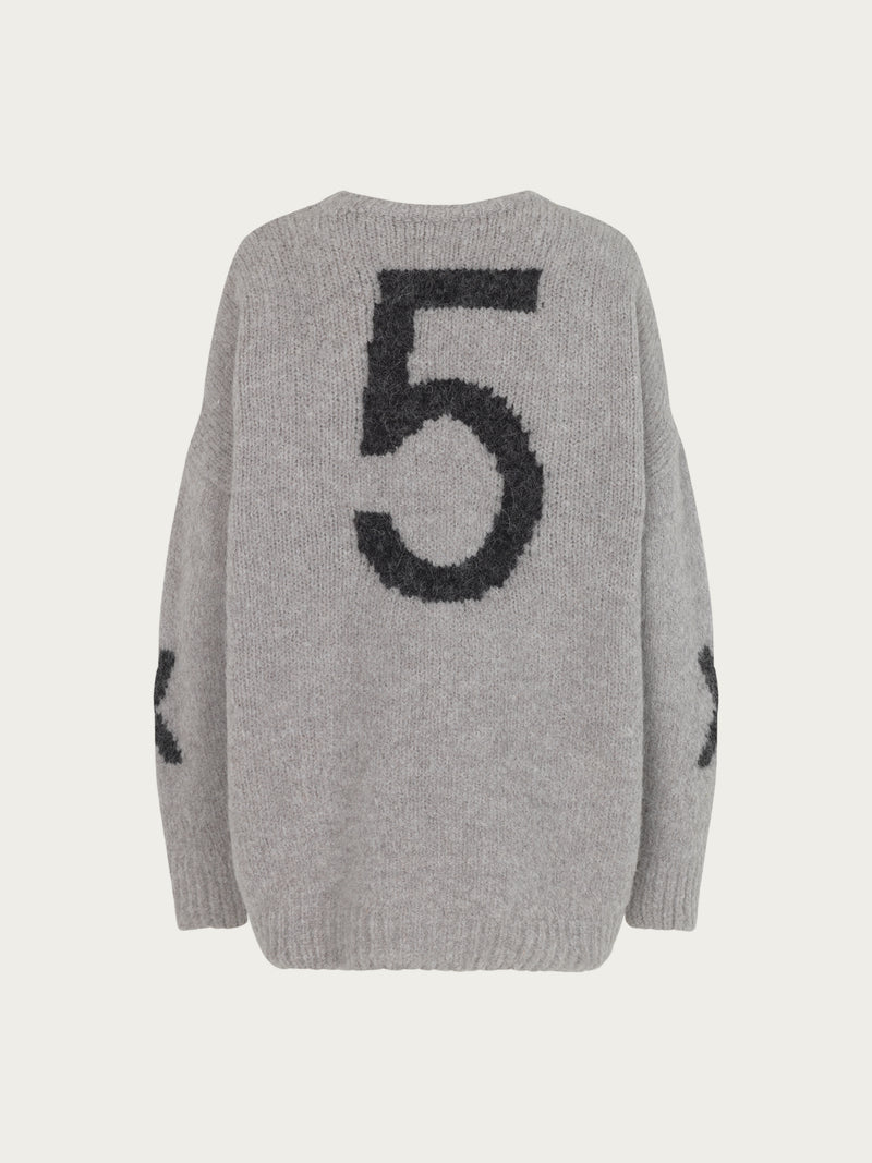 Comfy Copenhagen ApS Forever Mine Knit Light Grey