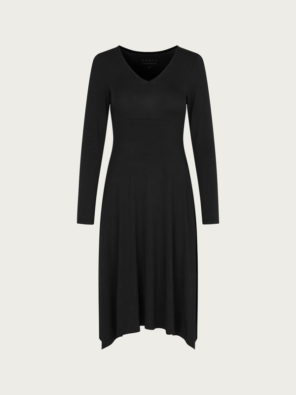 Comfy Copenhagen ApS Swing Dress Black