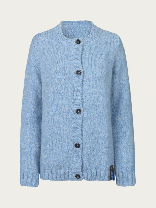Comfy Copenhagen ApS Toronto Cardigan Dusty Blue