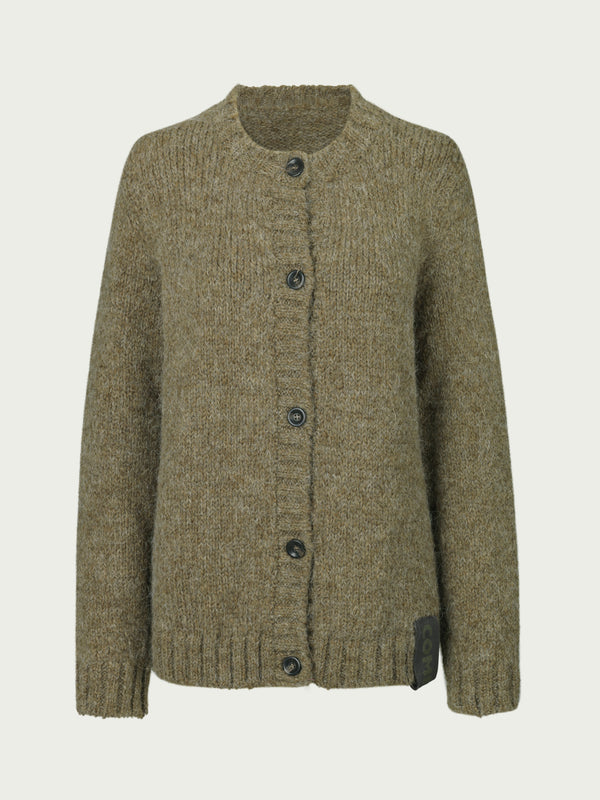 Comfy Copenhagen ApS Toronto Cardigan Dusty Green