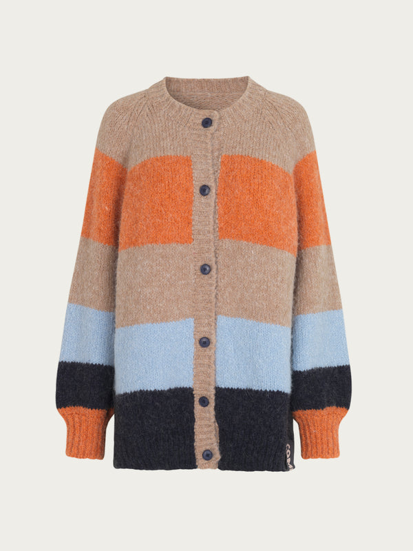 Comfy Copenhagen ApS Warm Me Knit Cardigan Multi