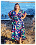 Aussie Curve Wrap Dress - Lottie