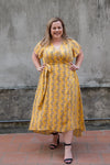 Aussie Curve Wrap Dress - Cassidy