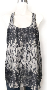 COLLECTIVE CONCEPTS Blusa gris Talla M