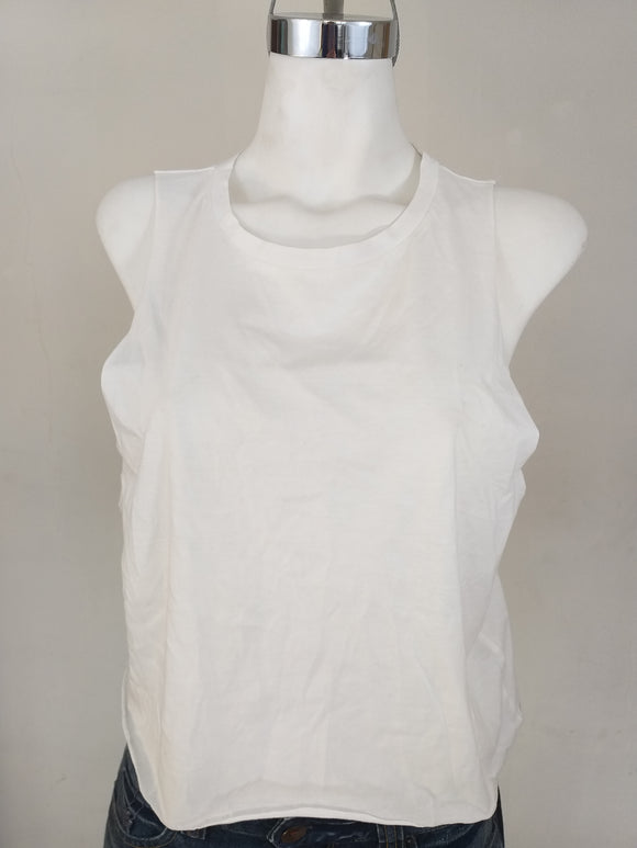 DIVIDED Camiseta blanca Talla M