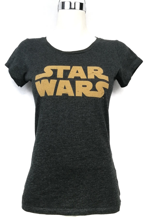 MÁSCARA DE LATEX Camiseta gris Star Wars Talla M