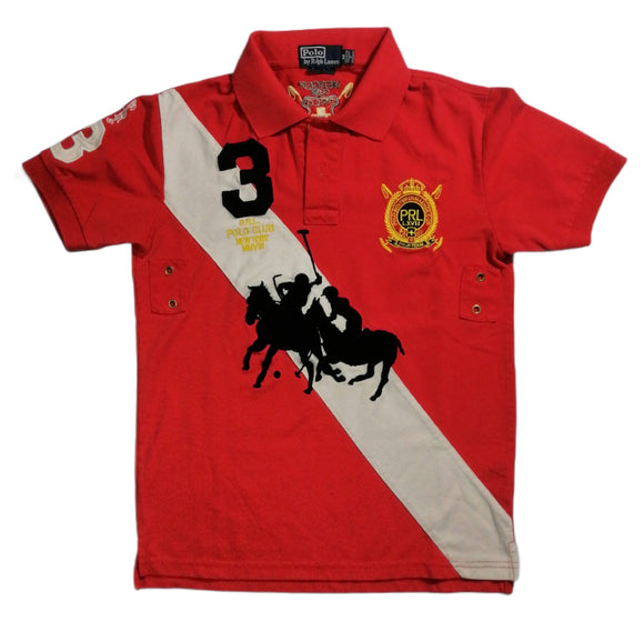 POLO BY RALPH LAURENT Playera Polo color rojo Talla M