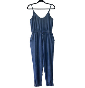 LOVE TREE Jumpsuit azul de tirantes