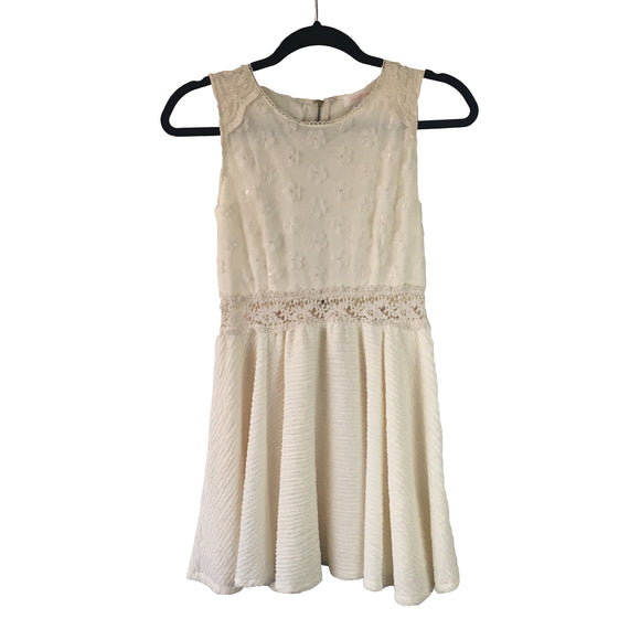 LIZ LISA Vestido color crema