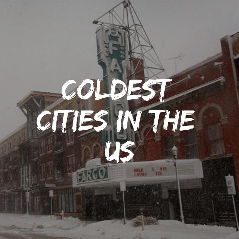 Top 15 coldest big cities in the United States