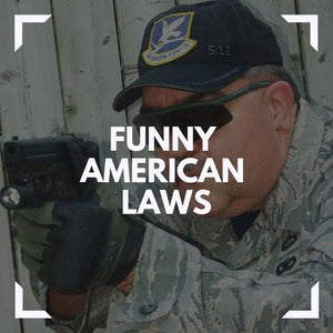 Top 20 of the most funny American laws