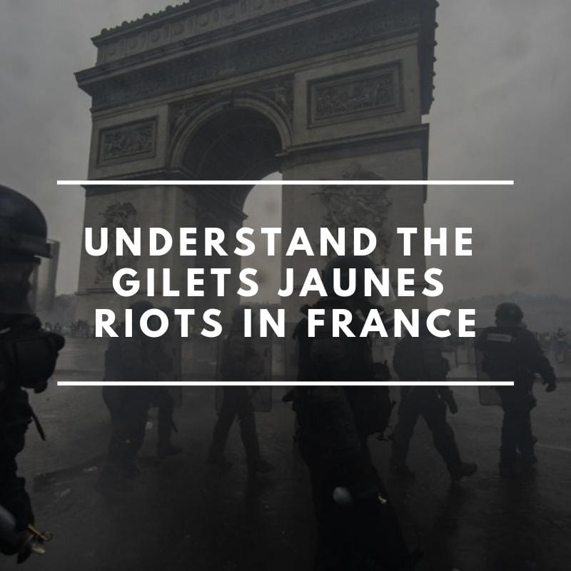 5 points to understand the Yellow Jackets riots in Paris when you are not French