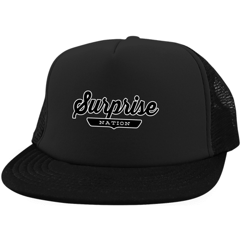 Surprise Trucker Hat with Snapback - The Nation Clothing
