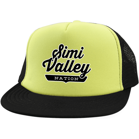 Simi Valley Trucker Hat with Snapback - The Nation Clothing
