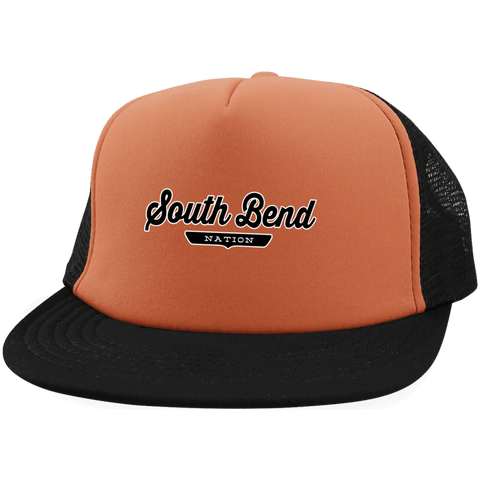South Bend Trucker Hat with Snapback - The Nation Clothing