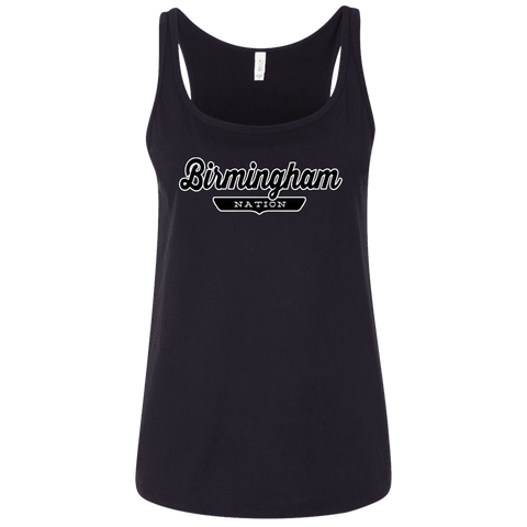 Birmingham Women's Tank Top - The Nation Clothing
