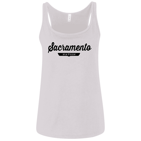 Sacramento Women's Tank Top - The Nation Clothing