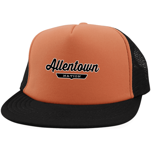 Allentown Trucker Hat with Snapback - The Nation Clothing