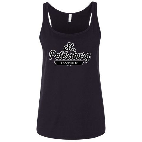 St. Petersburg Women's Tank Top - The Nation Clothing