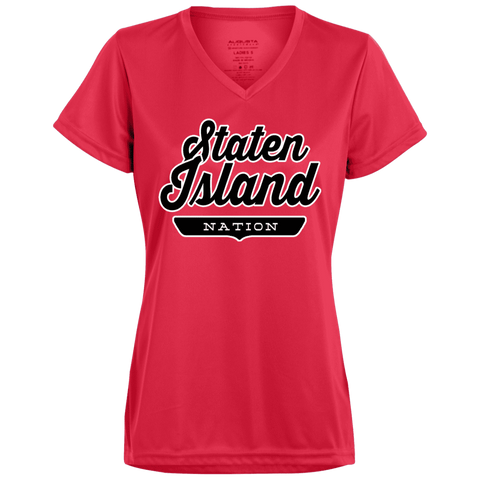 Staten Island Women's T-shirt - The Nation Clothing