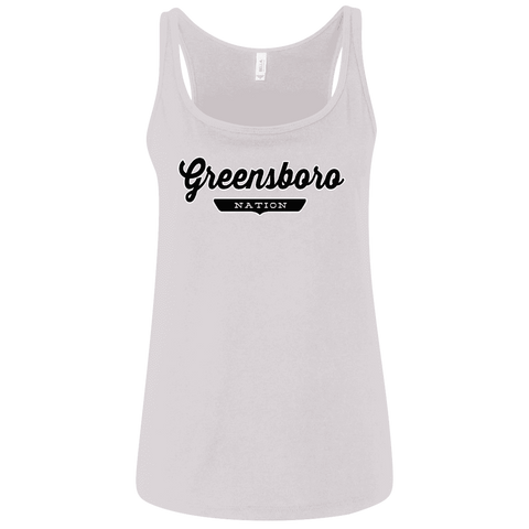Greensboro Women's Tank Top - The Nation Clothing