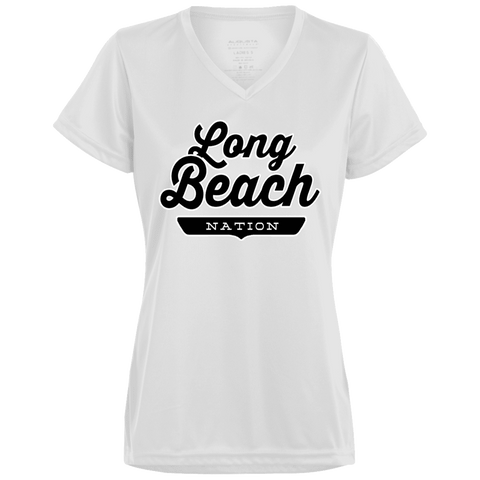 Long Beach Women's T-shirt - The Nation Clothing