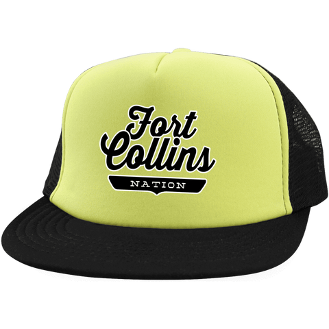 Fort Collins Trucker Hat with Snapback - The Nation Clothing
