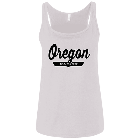 Oregon Women's Tank Top - The Nation Clothing
