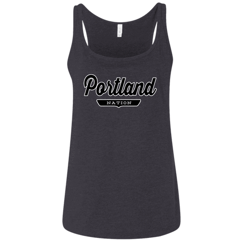 Portland Women's Tank Top - The Nation Clothing