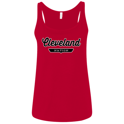 Cleveland Women's Tank Top - The Nation Clothing