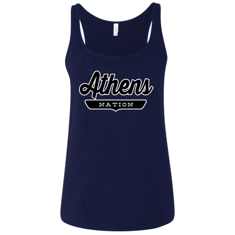 Athens Women's Tank Top - The Nation Clothing