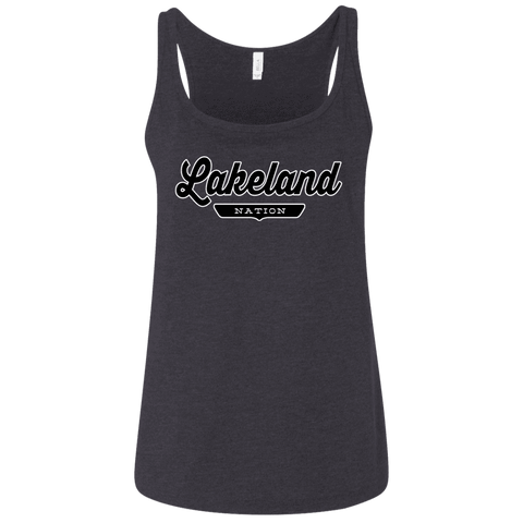 Lakeland Women's Tank Top - The Nation Clothing