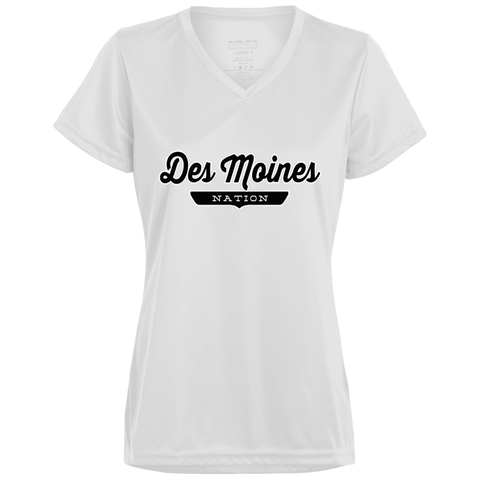 Des Moines Women's T-shirt - The Nation Clothing