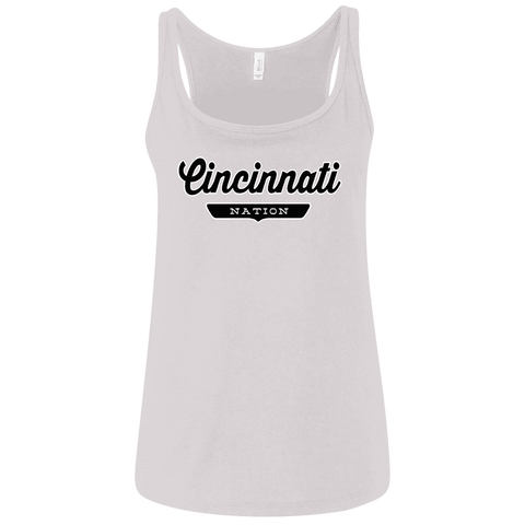 Cincinnati Women's Tank Top - The Nation Clothing