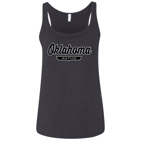 Oklahoma Women's Tank Top - The Nation Clothing