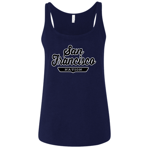 San Francisco Women's Tank Top - The Nation Clothing
