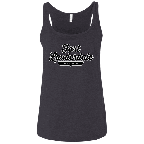 Fort Lauderdale Women's Tank Top - The Nation Clothing