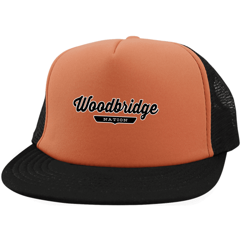 Woodbridge Trucker Hat with Snapback - The Nation Clothing