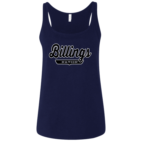 Billings Women's Tank Top - The Nation Clothing