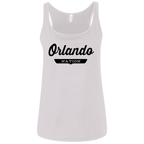 Orlando Women's Tank Top - The Nation Clothing
